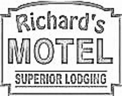 Richard's Motel Logo coloring book