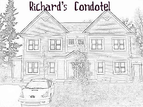 Richard's Condotel Coloring Book